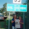 Linda Toner and Elizabeth Meyer of Plattsburgh visited their sister and brother-in-law, Fran and John Taylor, in St. Genevieve, Missouri. The Press accompanied them while visiting the region's antiques mall and other area attractions.