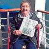 Mary Gilmore, 81, of Merrill, brought her P-R with her on an Alaskan cruise May 27-June 6.