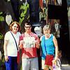 Janine (left) and Ellen Giroux of Plattsburgh with Ellen's son, Adam