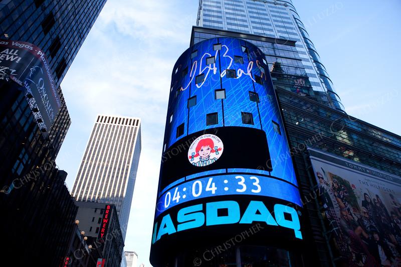 Wendy's analyst day at Nasdaq MarketSite