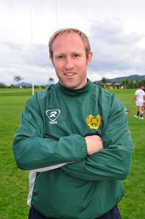 Brian Keegan, 1st Team Head Coach, Seapoint Rugby Club 2015. ©Margaret Brown 2015