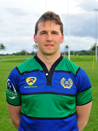 Eoin Cremen, Club Captain Seapoint Rugby Club 2015. ©Margaret Brown 2015
