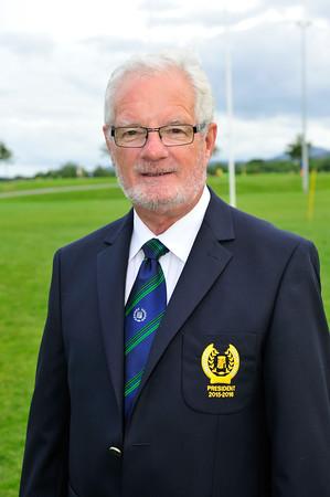 Eddie Duffy, President Seapoint Rugby Club 2015. ©Margaret Brown 2015