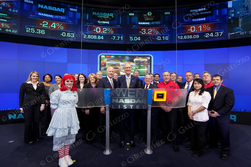 Wendy's CEO & Executives at the Closing Bell