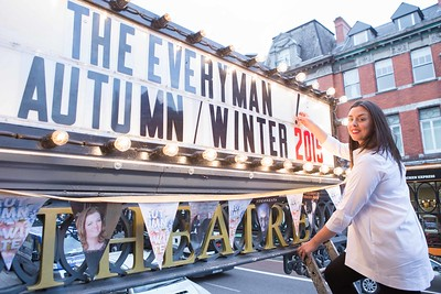 DKANE 08/09/2015 REPRO FREE Artistic Director of the Everyman Theatre Julie Kelleher at the launch of the Autumn/Winter season for the Everyman Theatre, Cork. Pic Darragh Kane.
