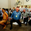 SKY BUSINESS ROADSHOW <br /> <br /> Sky employees performing the Haka at the Sky Business Roadshow, The Belfry, Sutton Coldfield, June 23 2015