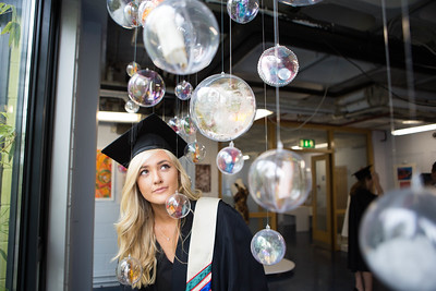DKANE 15092016 REPRO FREE Business Studies graduate Emma Ward, Rochestown at the 2016 Coláiste Stiofáin Naofa, Cork graduation ceremony. This years seen over 500 students graduate from a wide spectrum of courses.  Pic Darragh Kane