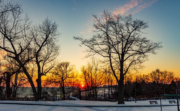 Winter sunset #3
