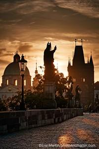 PRAGUE. Le Pont Charles.