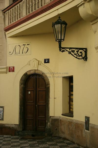 Door to No. 175 or Is It No. 2? Prague