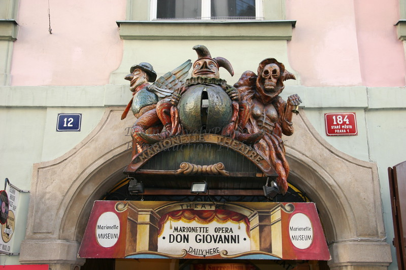 Marionette theatre, Prague