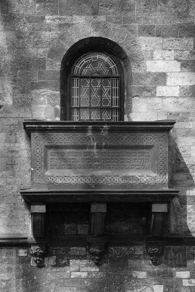 """Balcony over Jewish Cemetery, Prague"""