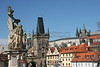 Charles Bridge and Prague Castle in Daylight