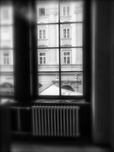 radiator and room in prague