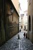 Little Girl Making Her Getaway, Prague, Czech Republic