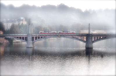 Bridge in morning