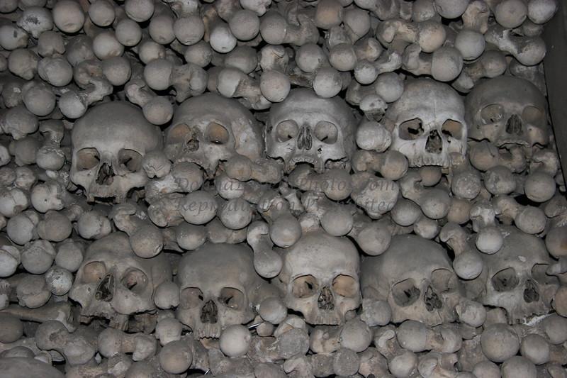 Skulls, Kunta Hora, Czech Republic