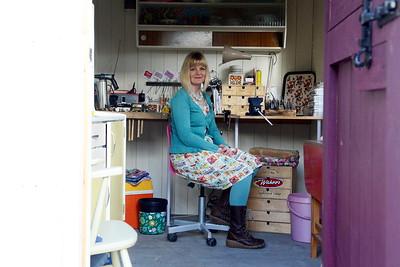 Portrait shot for Swansea Life magazine.