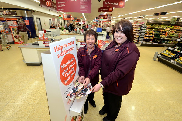 Promotional shot of Sainsbury's charity partner launch.