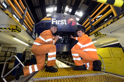 First Cymru engineers promo shot