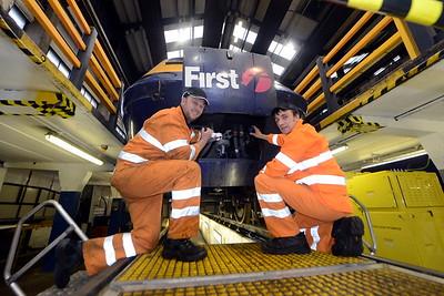 First Cymru engineers promo shot