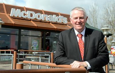 Promotional shot for McDonald's restaurants
