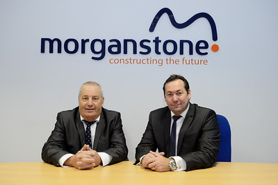 Corporate promotional shot for Morganstone construction firm.