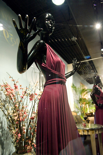 Madame Paulette Window Display 2010