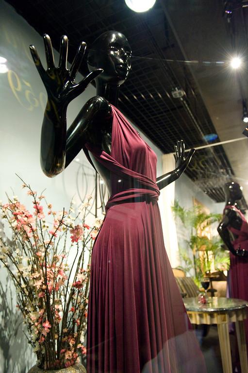 Madame Paulette Window Display 2010