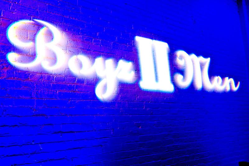 Porsche Design Soho Store Launch with Boyz II Men
