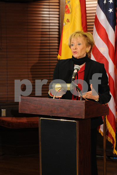 THE SPAIN-U.S.CHAMBER OF COMMERCE Hosts Economic Outlook Breakfast with María Teresa Fernández de la Vega,  Vice-President and Minister of the Presidency of Spain