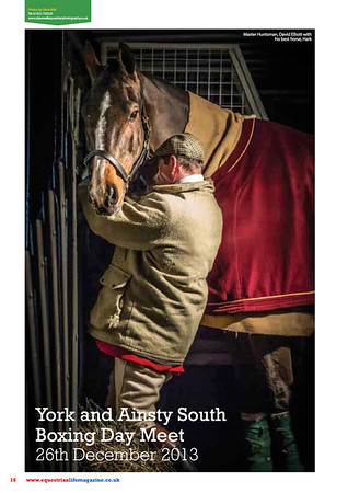 Published in the February 2014 issue of Equestrian Life