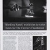 'Working Hands' Exhibition article