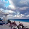 The beach of Harbour Island, Bahamas.