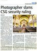 CSG Australia  Australian Jewish News  Melbourne, Australia  July 3, 2009