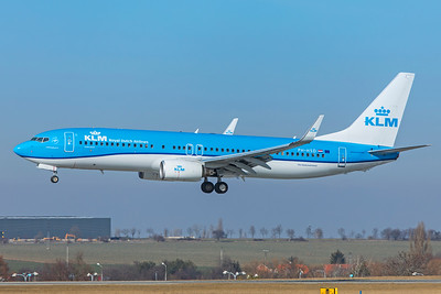 KLM Royal Dutch Airlines Boeing 737-8K2 PH-HSD 2-24-19