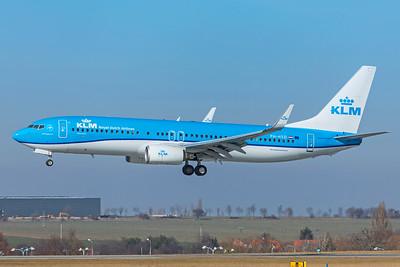 KLM Royal Dutch Airlines Boeing 737-8K2 PH-HSD 2-24-19