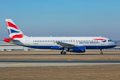 British Airways Airbus A320-232 G-EUUY 2-24-19