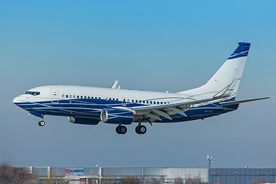 PPF Group Boeing 737-7HZ(BBJ) P4-NGK 2-24-19