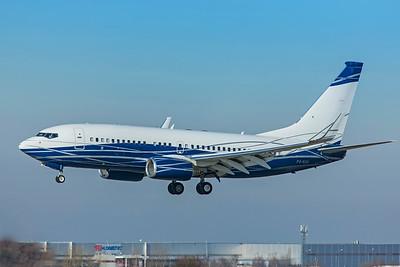 PPF Group Boeing 737-7HZ(BBJ) P4-NGK 2-24-19