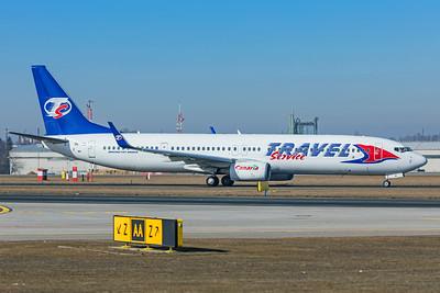 Travel Service Boeing 737-9GJ(ER) OK-TSI 2-24-19