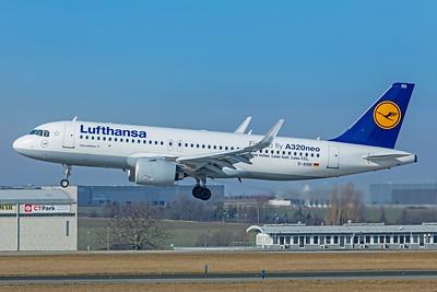 Lufthansa Airbus A320-271N D-AINB 2-24-19