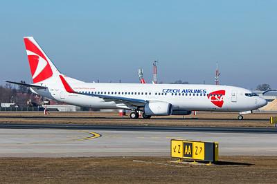 Czech Airlines (CSA) Boeing 737-86N OK-TST 2-24-19