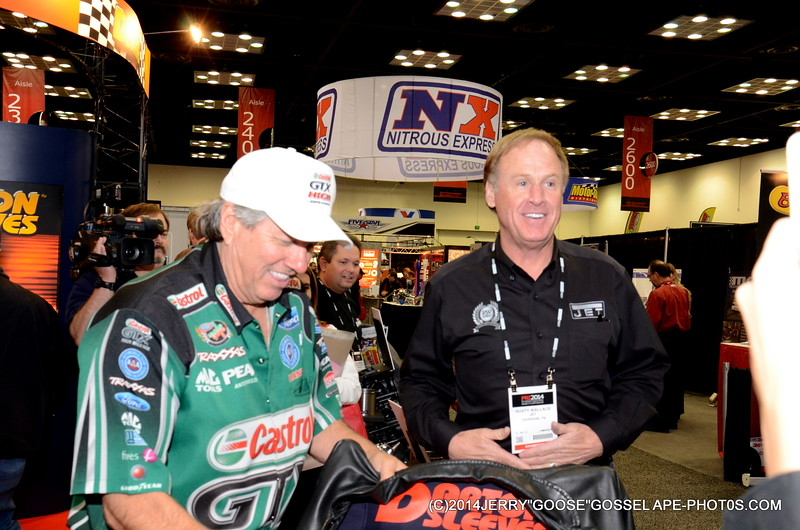 JOHN FORCE AND RUSTY WALLACE!