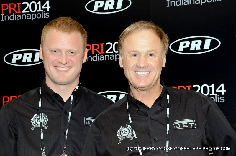 STEVE AND RUSTY WALLACE, SPONSOR BY JET
