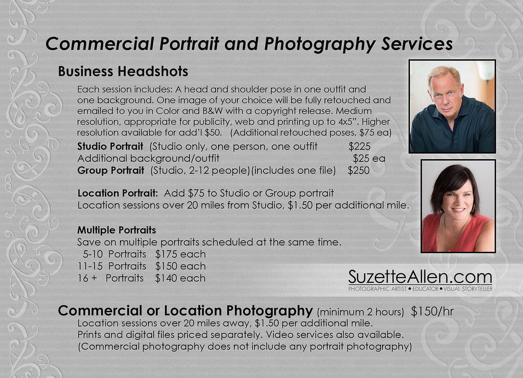 Senior Photography Prices