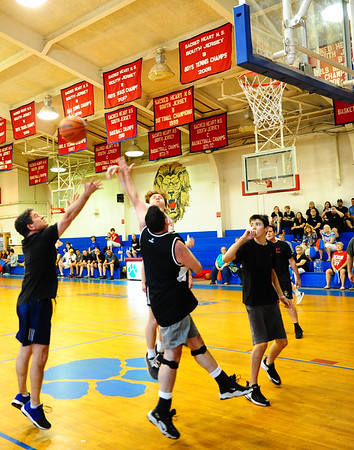 PRIESTS VS ADULTS & TEENS BASKETBALL FUNDRAISER- 05/31/19