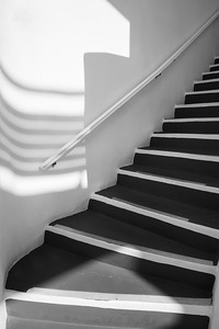 Stairs, Santorini, Greece.