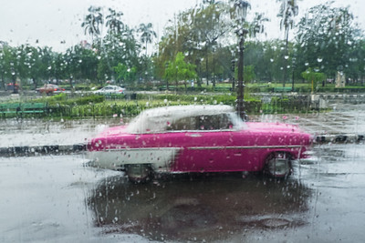 Rainy Day in Havana.