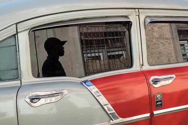 Cuban, Reflected. Havana.